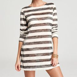 """<b>La Blanca</b> Boatneck Striped Tunic Swimsuit Cover Up, <a href=""""http://www1.bloomingdales.com/shop/product/la-blanca-boatneck-striped-tunic-swimsuit-cover-up?ID=679281&CategoryID=5609&LinkType=#fn%3Dspp%3D44"""">$65</a> at Bloomingdale's"""