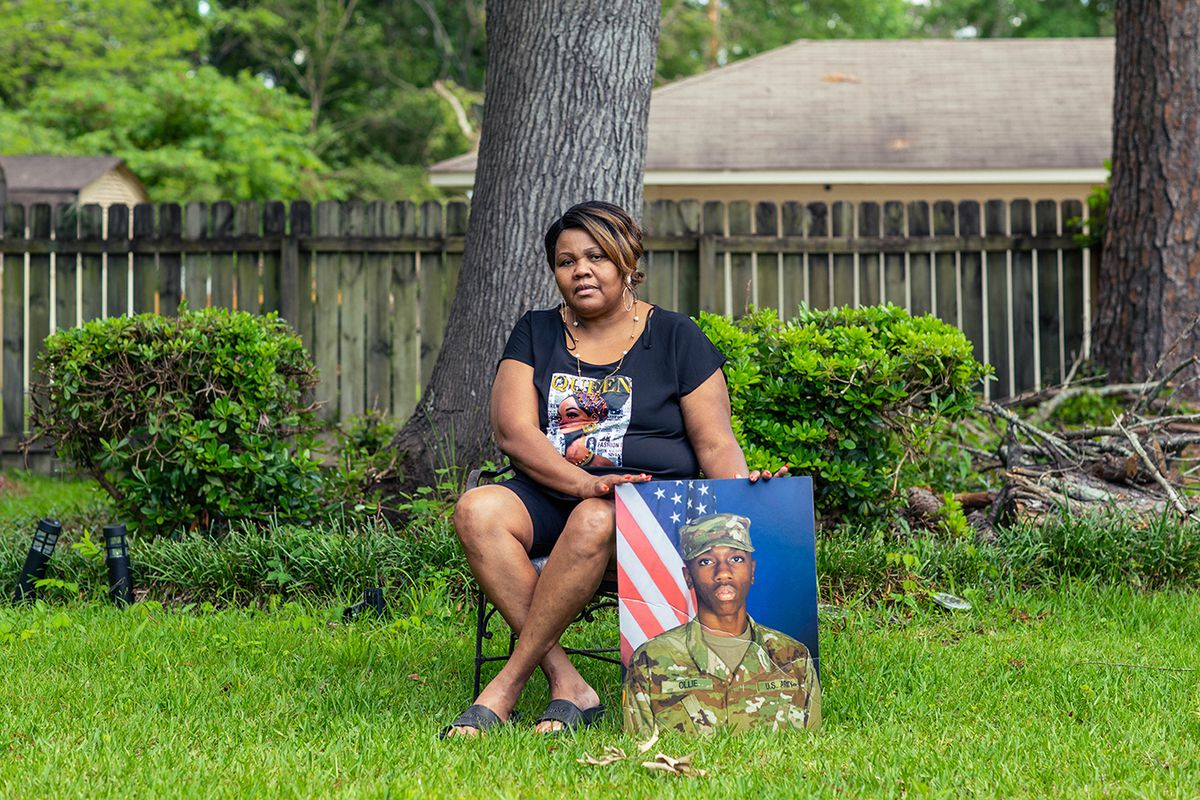 Cassandra Rollins' son Tyler killed himself at 20 in 2019, leaving behind a pregnant wife. His daughter was born in 2020 on the day Rollins' daughter Shalondra died of COVID-19.