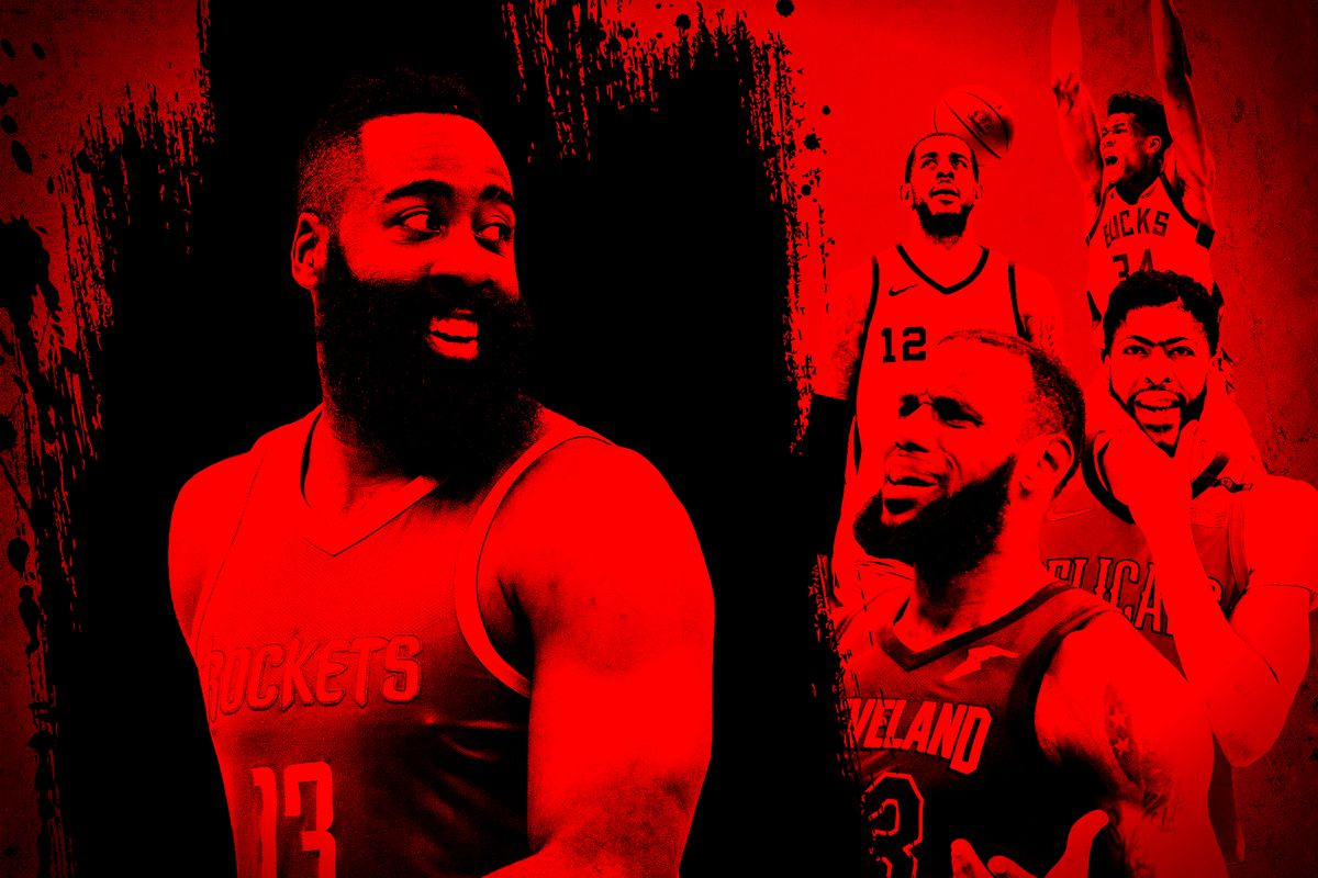 ac8b0756fb1 Getty Images Ringer illustration. The Most Valuable Player race unfolded ...