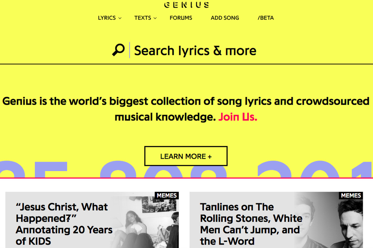 Genius finally launches an Android app, redesigns its