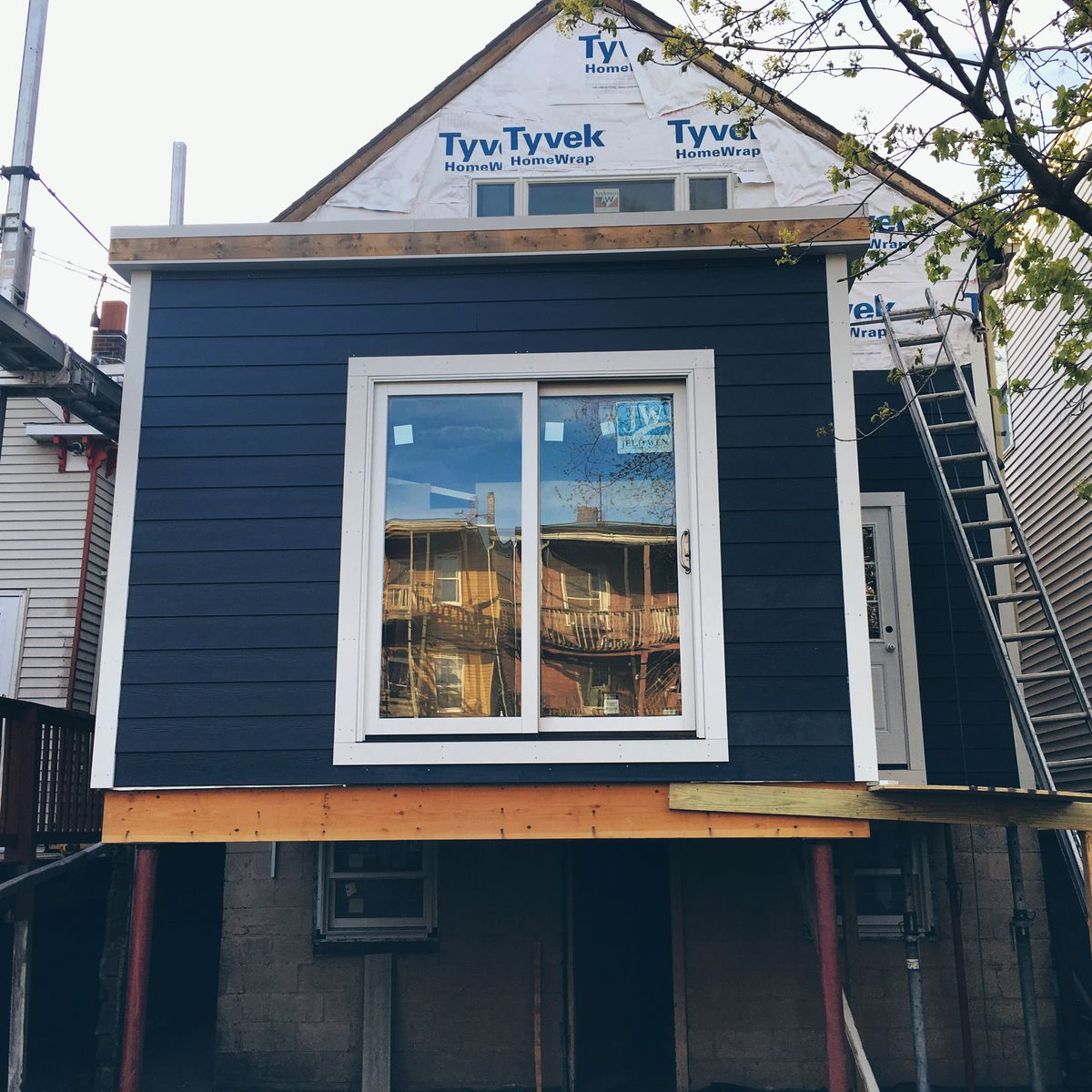 Working-class cottage renovation in Eastie