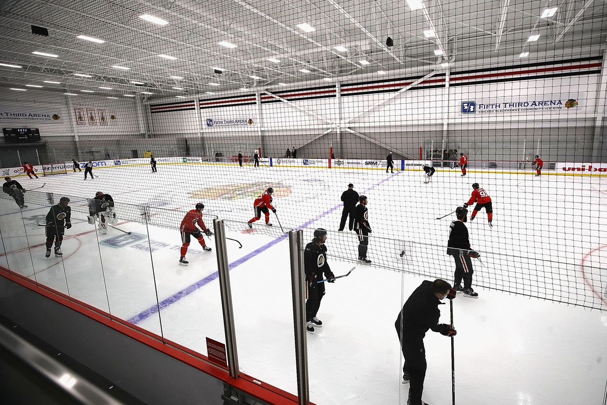 Chicago Blackhawks Training Camp