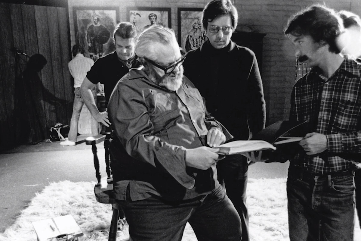 Risultati immagini per the other side of the wind welles