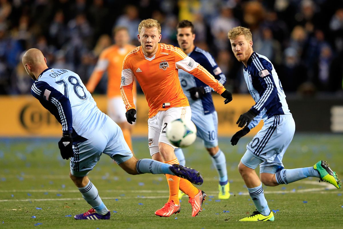 """""""Uri"""" Rosell (right) and Benny Feilhaber (center) were two popular staff picks for #SKC3v3."""