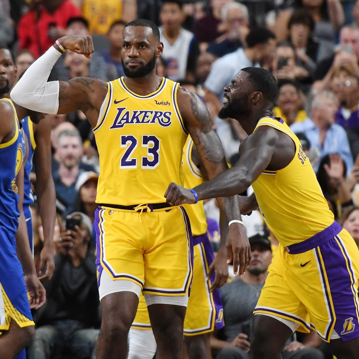 50218cf0 LeBron James feels like the Lakers can compete with anyone with him on the  floor