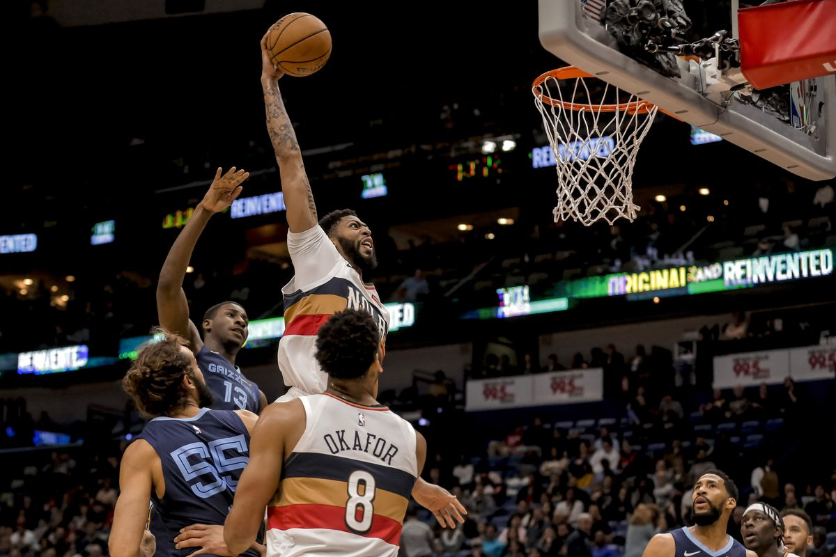 New Orleans Pelicans Thrash Memphis Grizzlies Behind Anthony