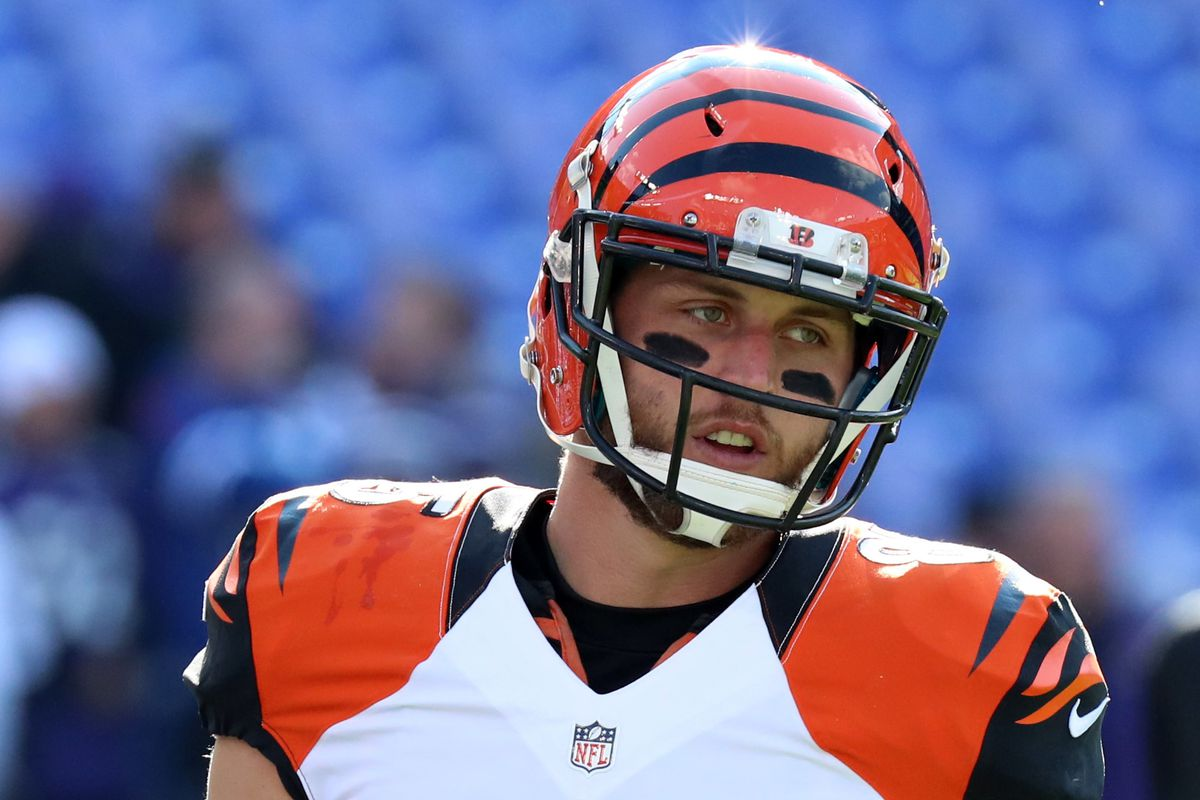 Bengals injury news Tyler Eifert not running yet as he recovers