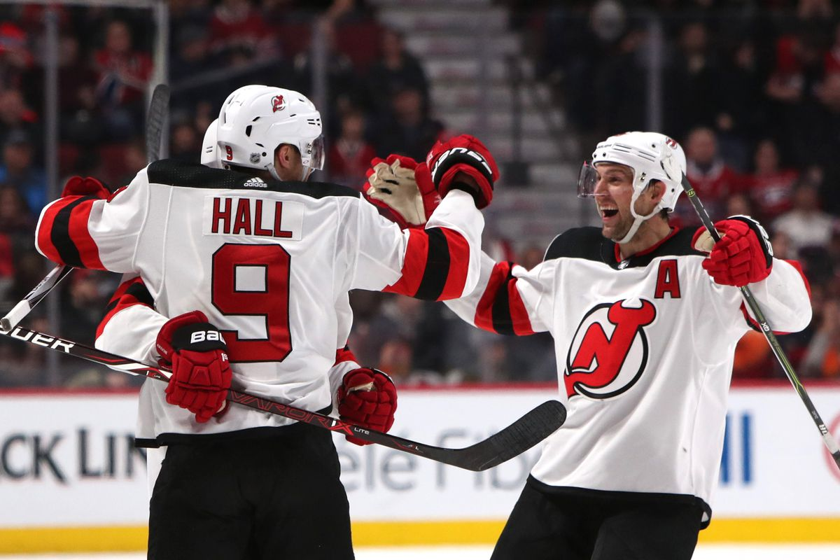 1c349e467 Hall s Shorthanded Goal Provided the Edge in New Jersey Devils 2-1 Win Over Montreal  Canadiens