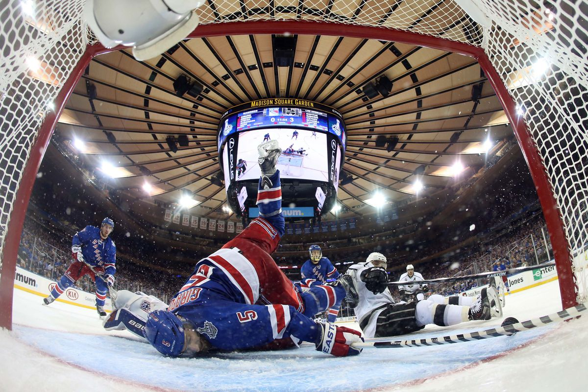 Visual summary of the Rangers' Stanley Cup hopes