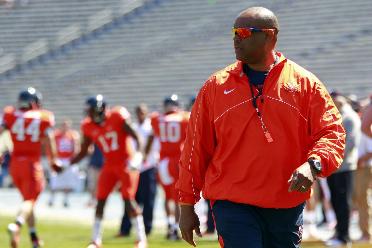 Mike London and the Hoos had a bunch of talented visitors on Grounds for the Spring Game