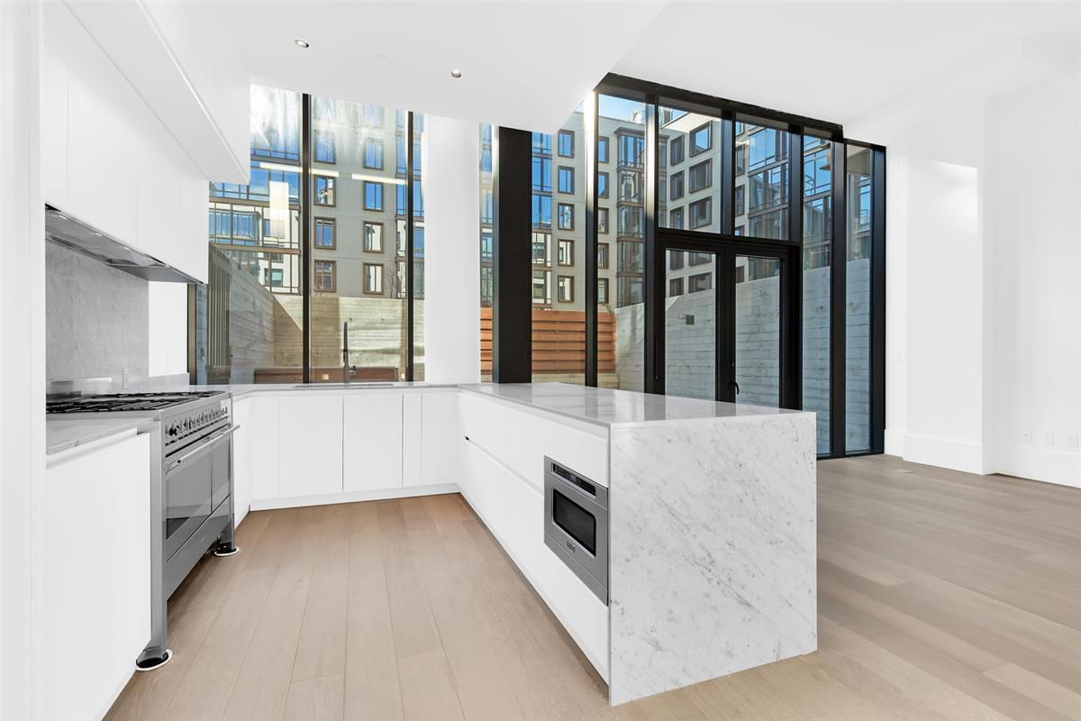 kitchen of the most expensive rental in Williamsburg