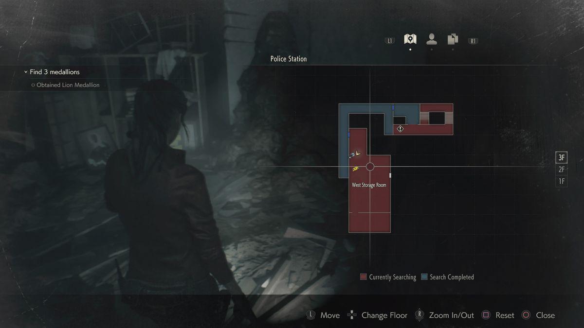 Resident Evil 2 West Storage Room