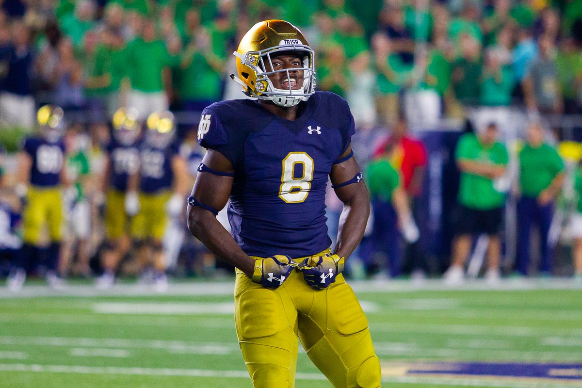 This Guy Plays Notre Dame Football: #8 Jafar Armstrong ...