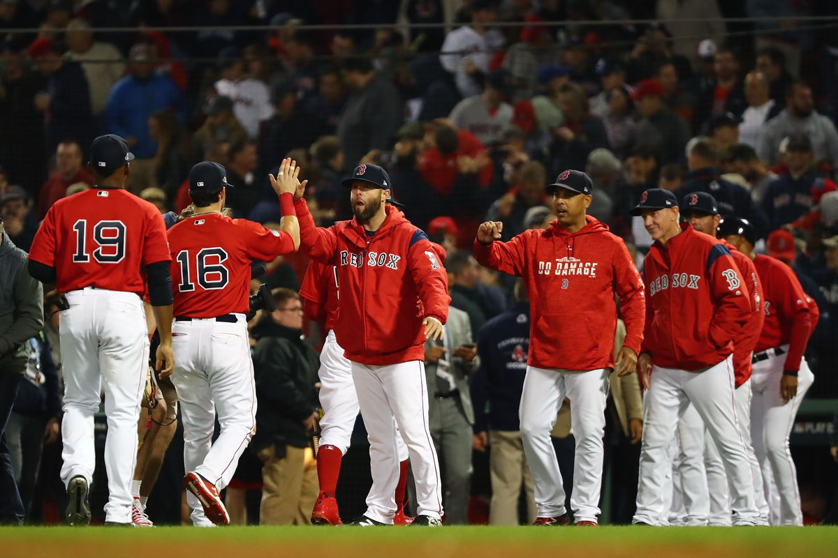 Divisional Round - New York Yankees v Boston Red Sox - Game One