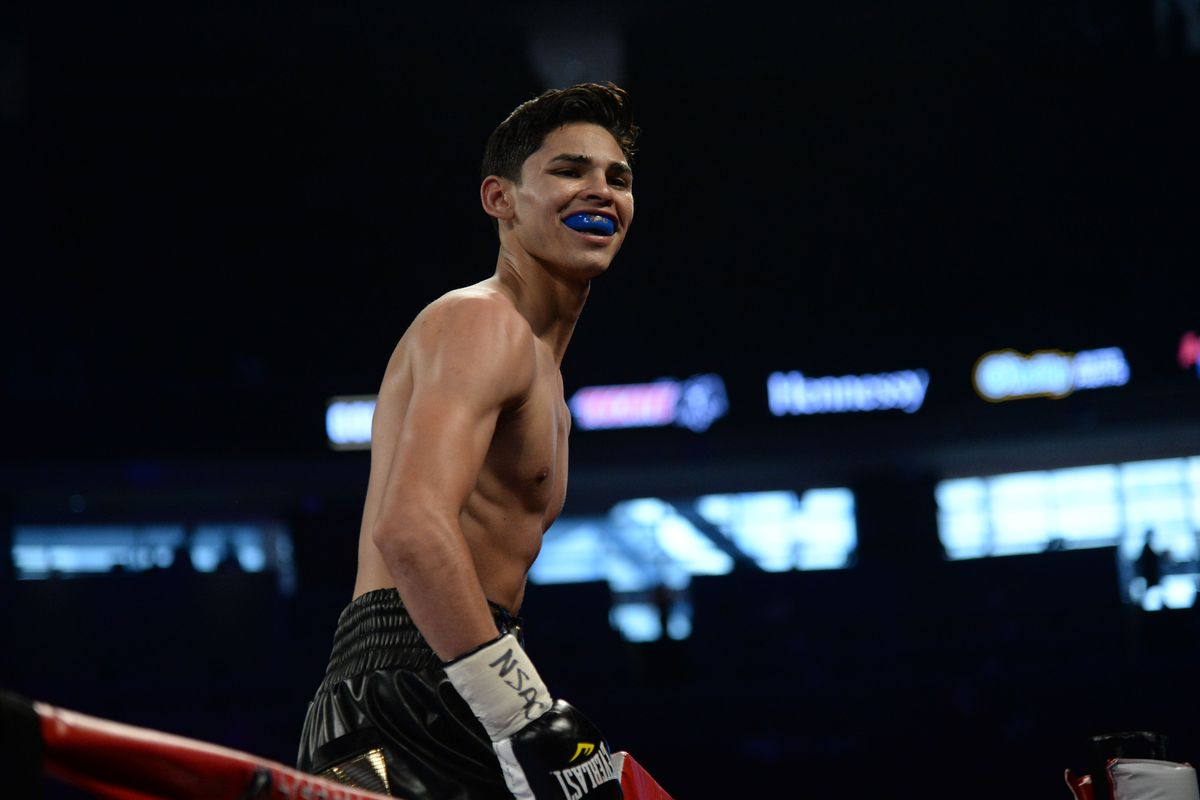 Highlights Ryan Garcia Ends Luke Campbell With Vicious Body Shot To Claim Interim Title Mmamania Com