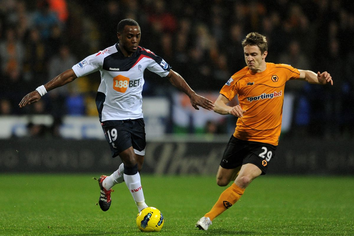 KEVIN Doyle and Nigel Reo-COKER. Kevin Coker looks like these two guys put together, I think.
