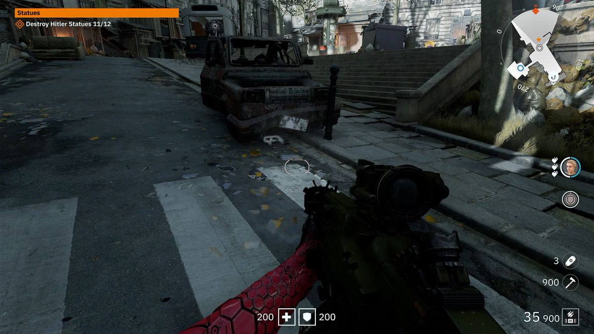 Wolfenstein: Youngblood 3D Glasses 33 collectible Civilian Car