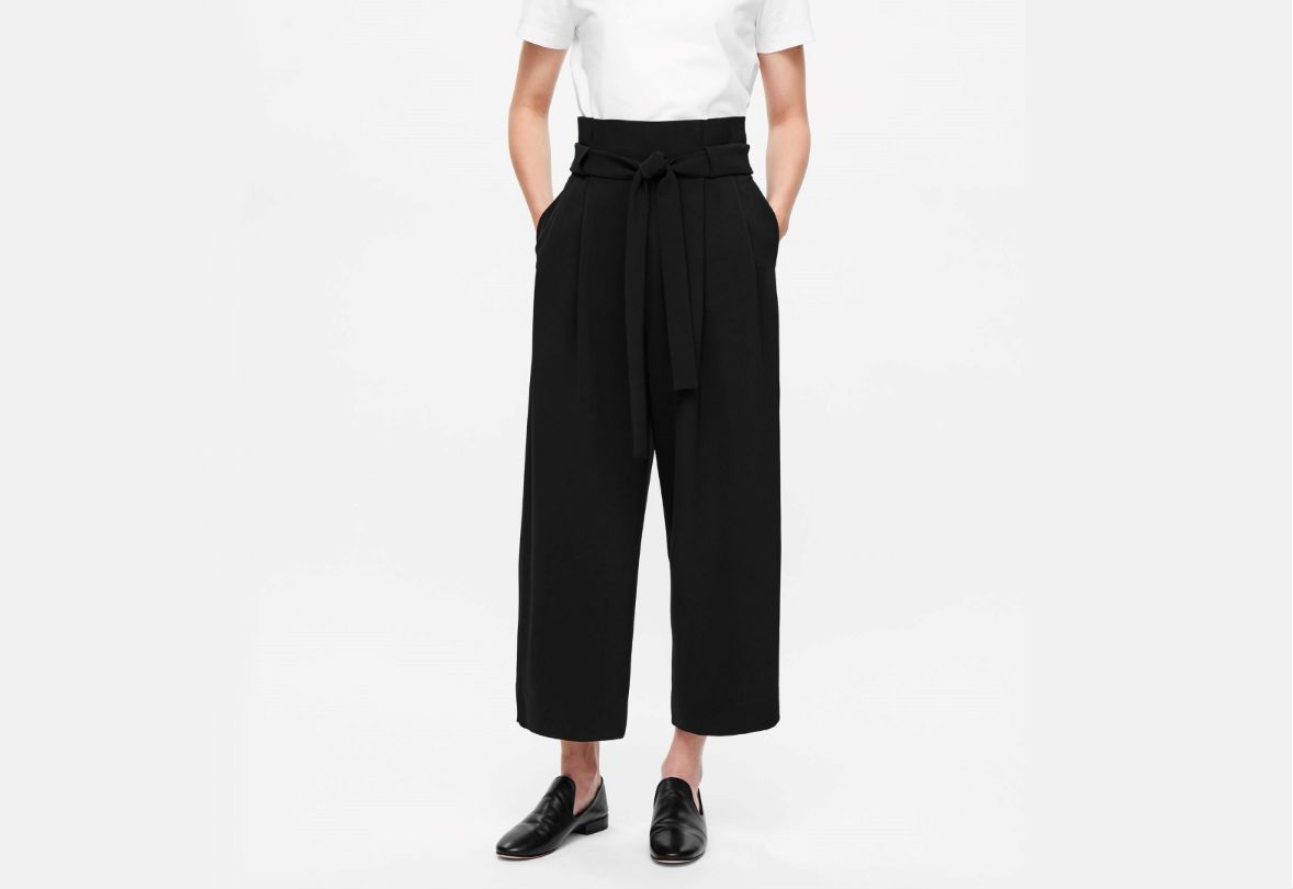 Cos wide leg trousers