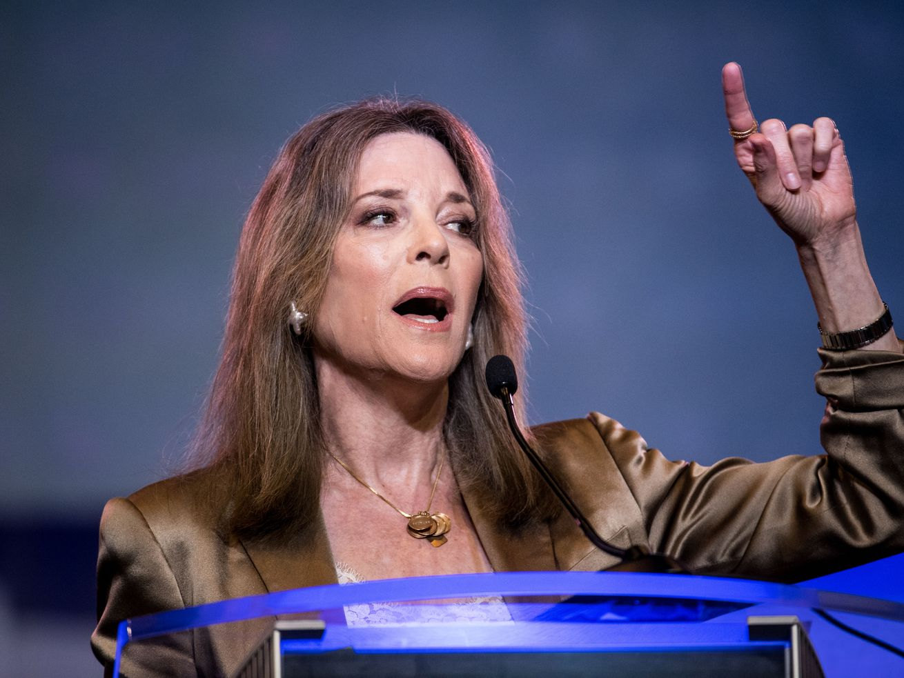 Marianne Williamson's supporters think she would make a great inspirer-in-chief, if only American voters would listen.