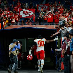 April 2019: Apparently content with just having starting depth, the Browns traded former starting defensive end Emmanuel Ogbah away to the Kansas City Chiefs for safety Eric Murray.