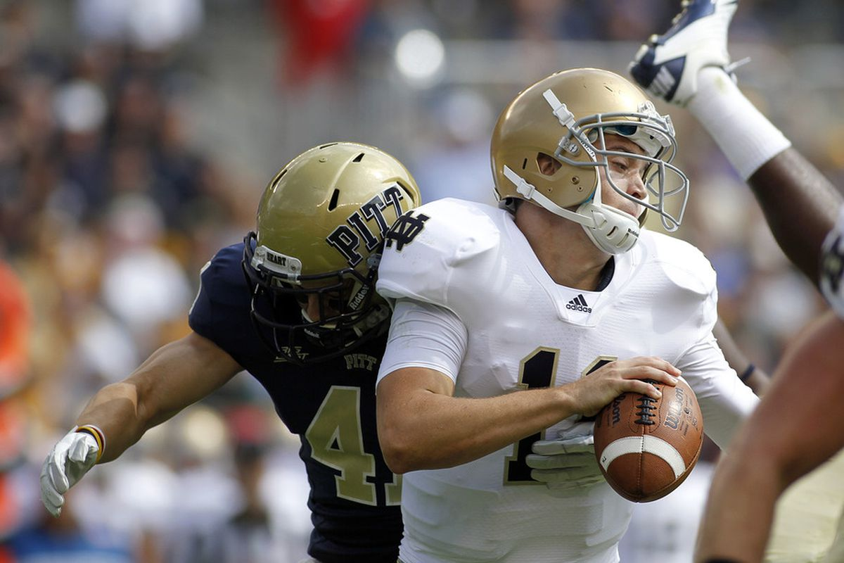 Could Notre Dame versus ACC teams become a regular occurrence?  (Photo by Justin K. Aller/Getty Images)