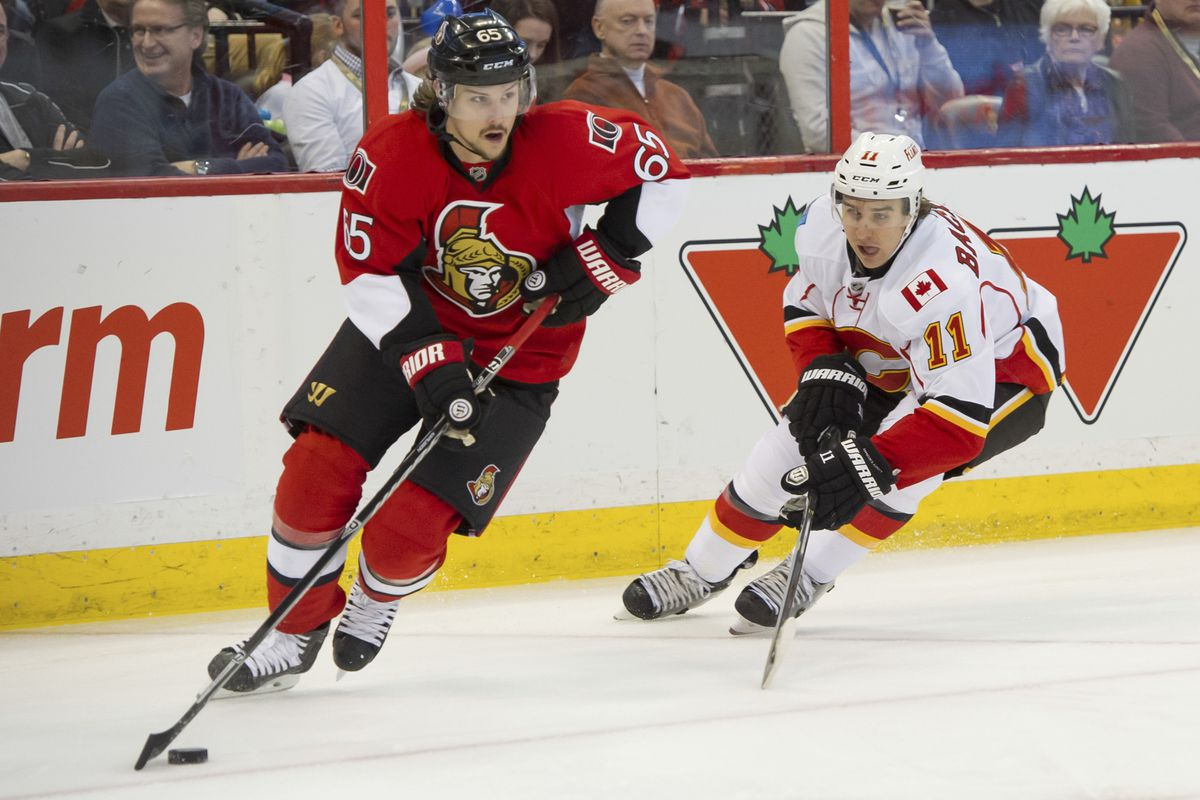 Erik Karlsson doing what he does best.