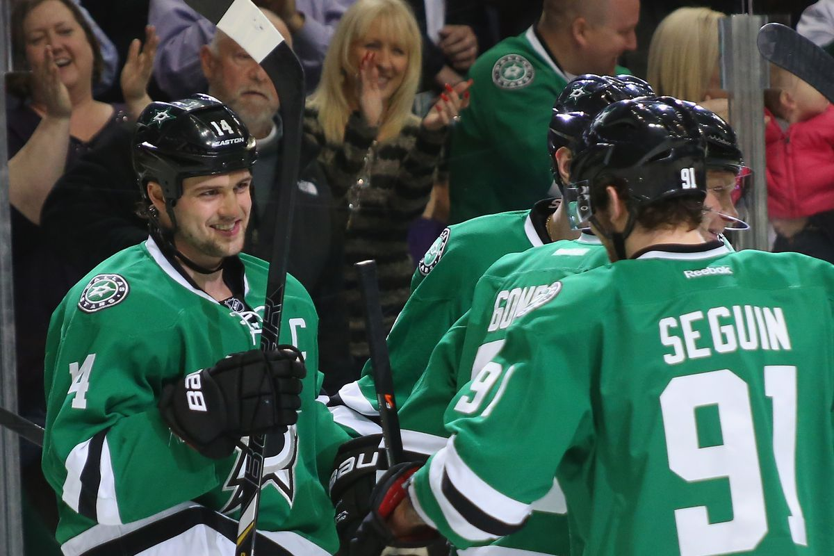 The secret to Seguin's success might be Jamie Benn.  It also might be donuts.