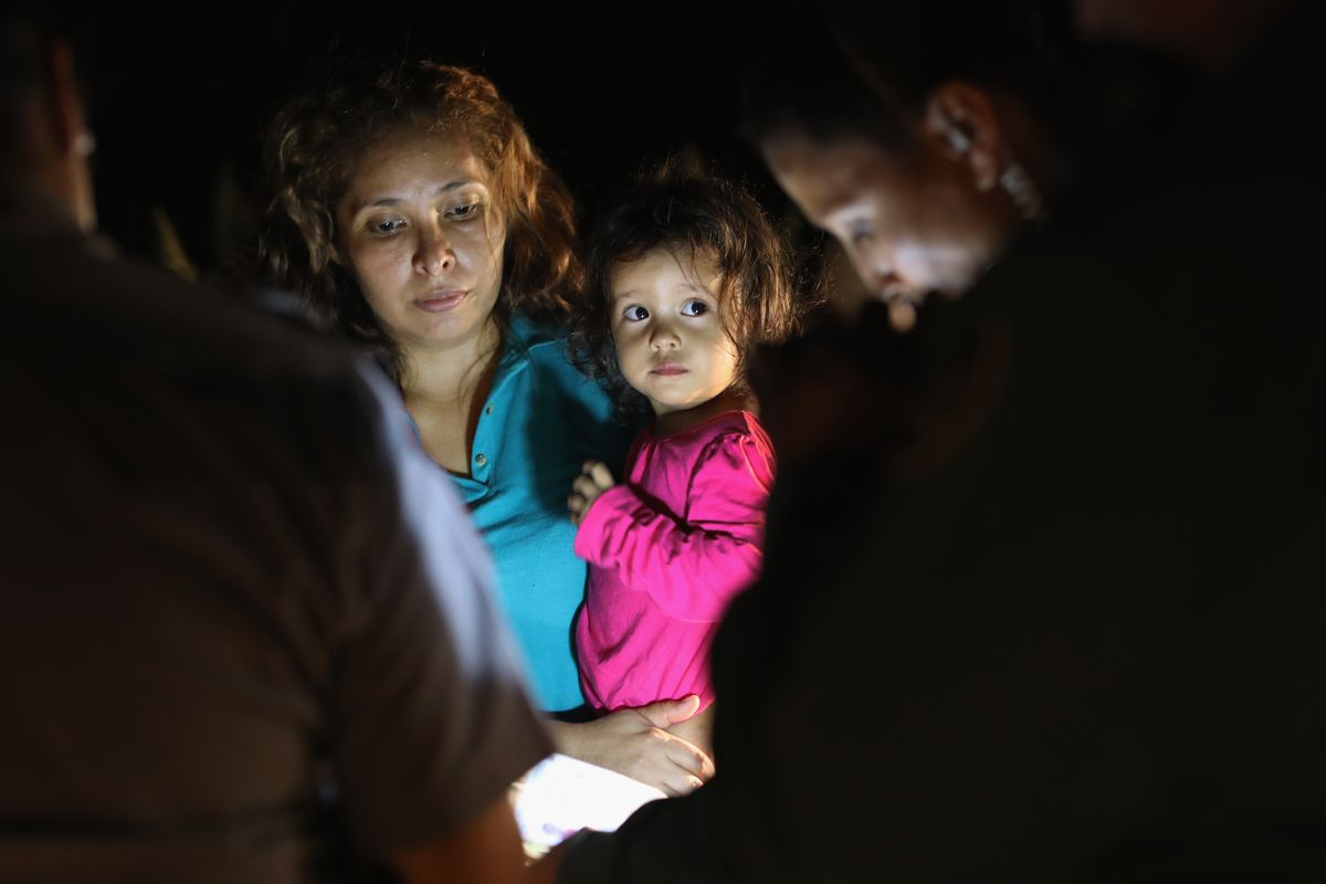 "Separating children of ""tender age"" from parents has long ..."