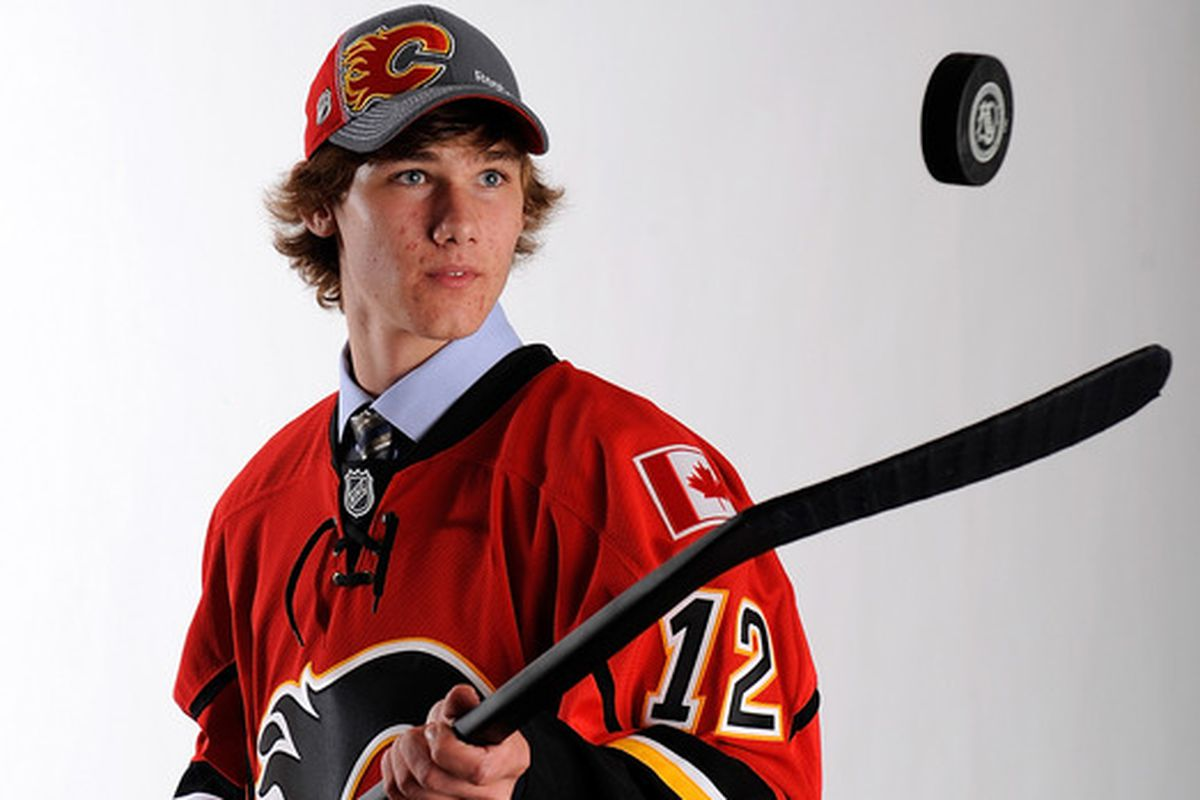 Calgary Flames prospect Mark Jankowski scored two goals for Providence as the Friars downed Merrimack, 4-2.