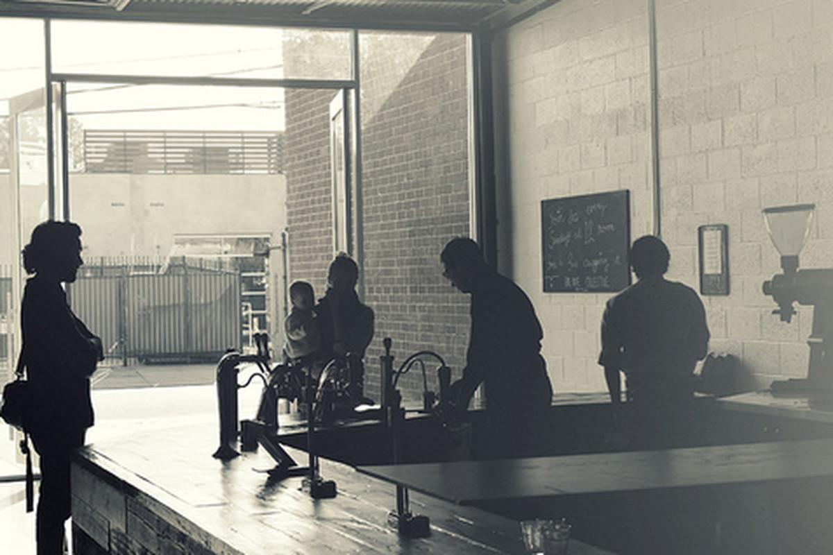Inside Bar Nine Collective, Culver City.