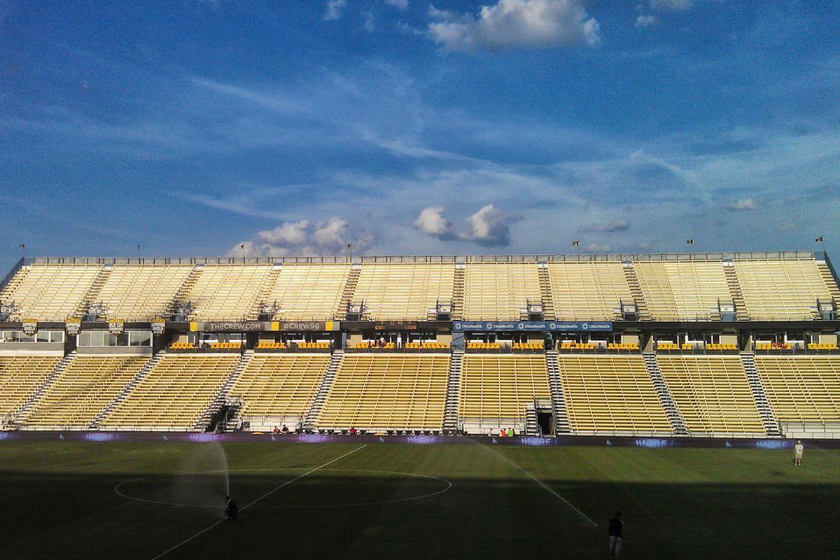 Crew Stadium, Spring 2013