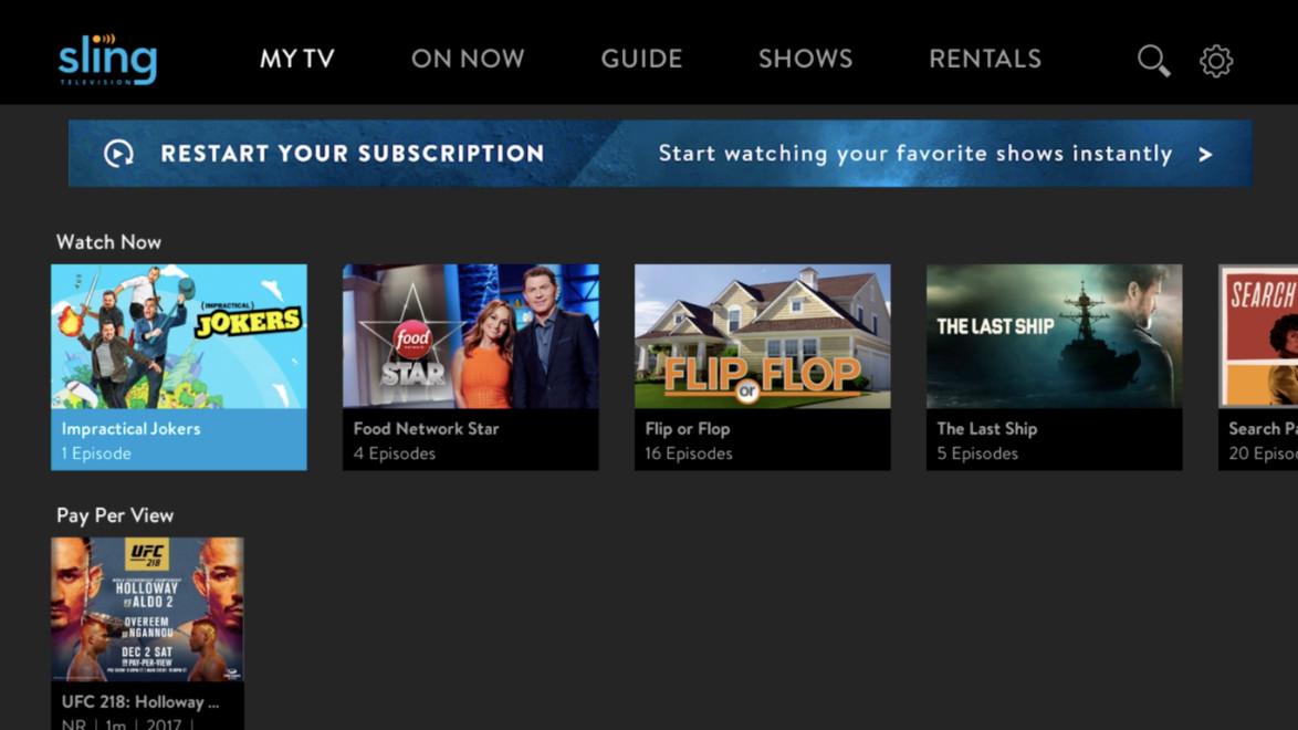 Sling Tv Is Increasing Sling Orange Its Channel Package