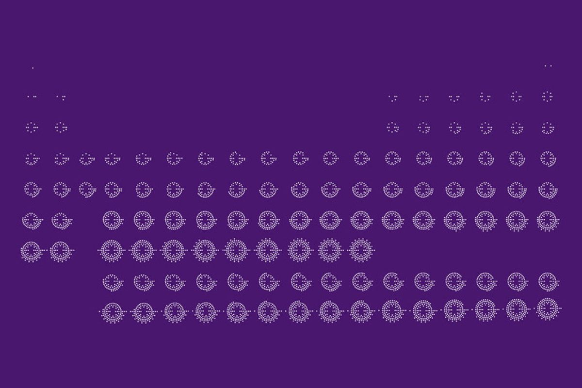 periodic table allison haigh - Periodic Table Wallpaper
