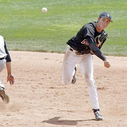 Lone Peak shortstop Dillon Robinson is the 5A MVP after helping hit, field and pitch the Knights to the state title.