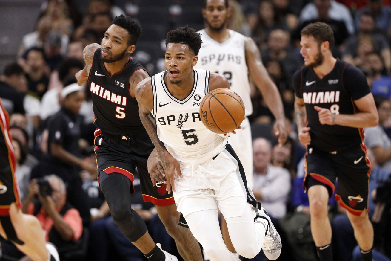 NBA: Preseason-Miami Heat at San Antonio Spurs