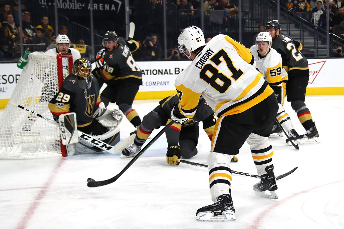 0be2efaf3 Gameday  Marc-Andre Fleury and Golden Knights welcome Penguins to Vegas -  Knights On Ice