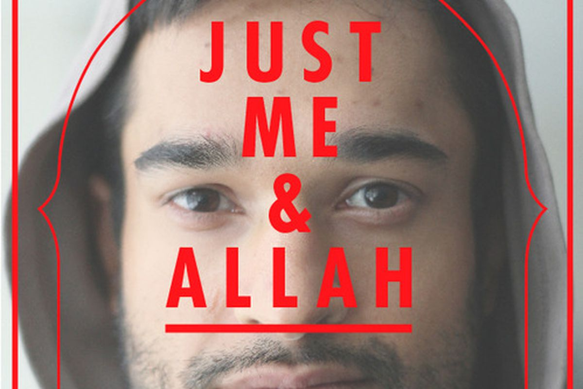 Promotional poster for 'Just Me and Allah.'
