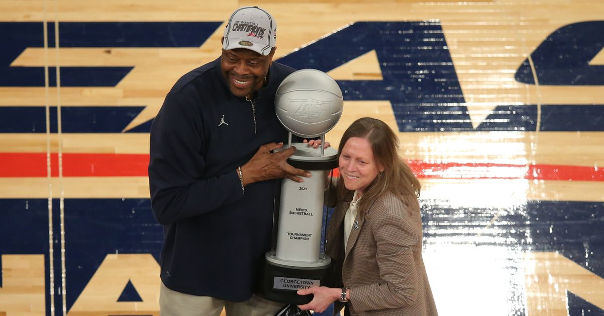 <p>Why Patrick Ewing and Georgetown are the feel-good story of March Madness so far thumbnail