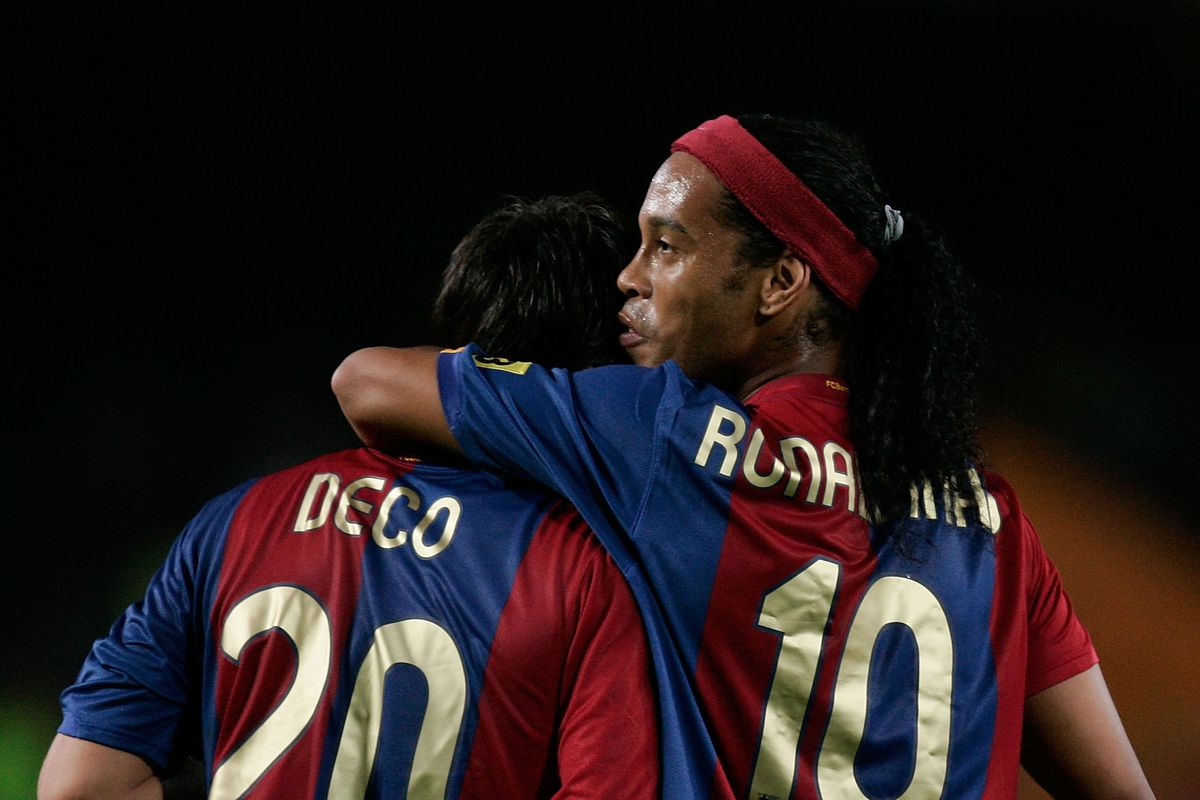 Ronaldinho and Deco used to turn up to training drunk - Alex Hleb