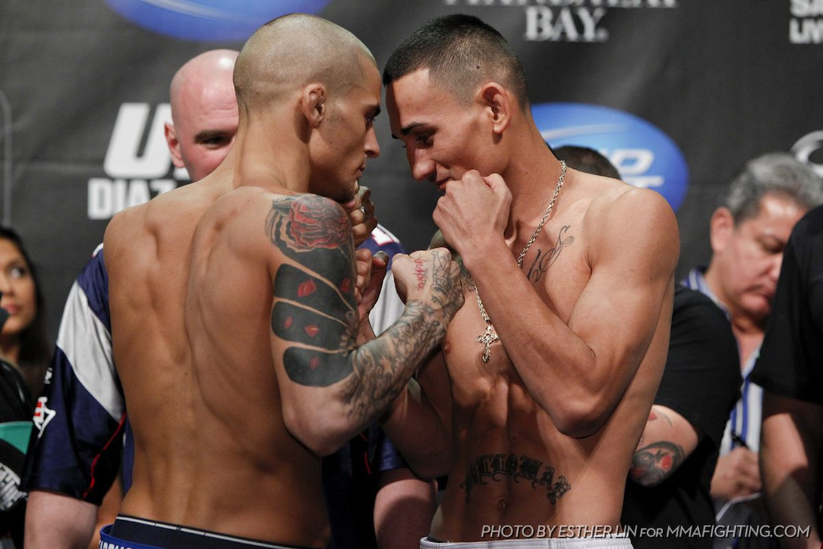 Image result for max holloway dustin poirier