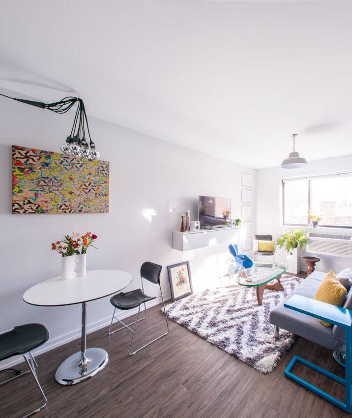 How to Live Large in a 500 Square Foot Studio Apartment ...