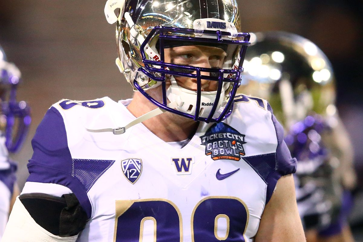 Is this young Dawg the best NFL prospect on Washington's roster?