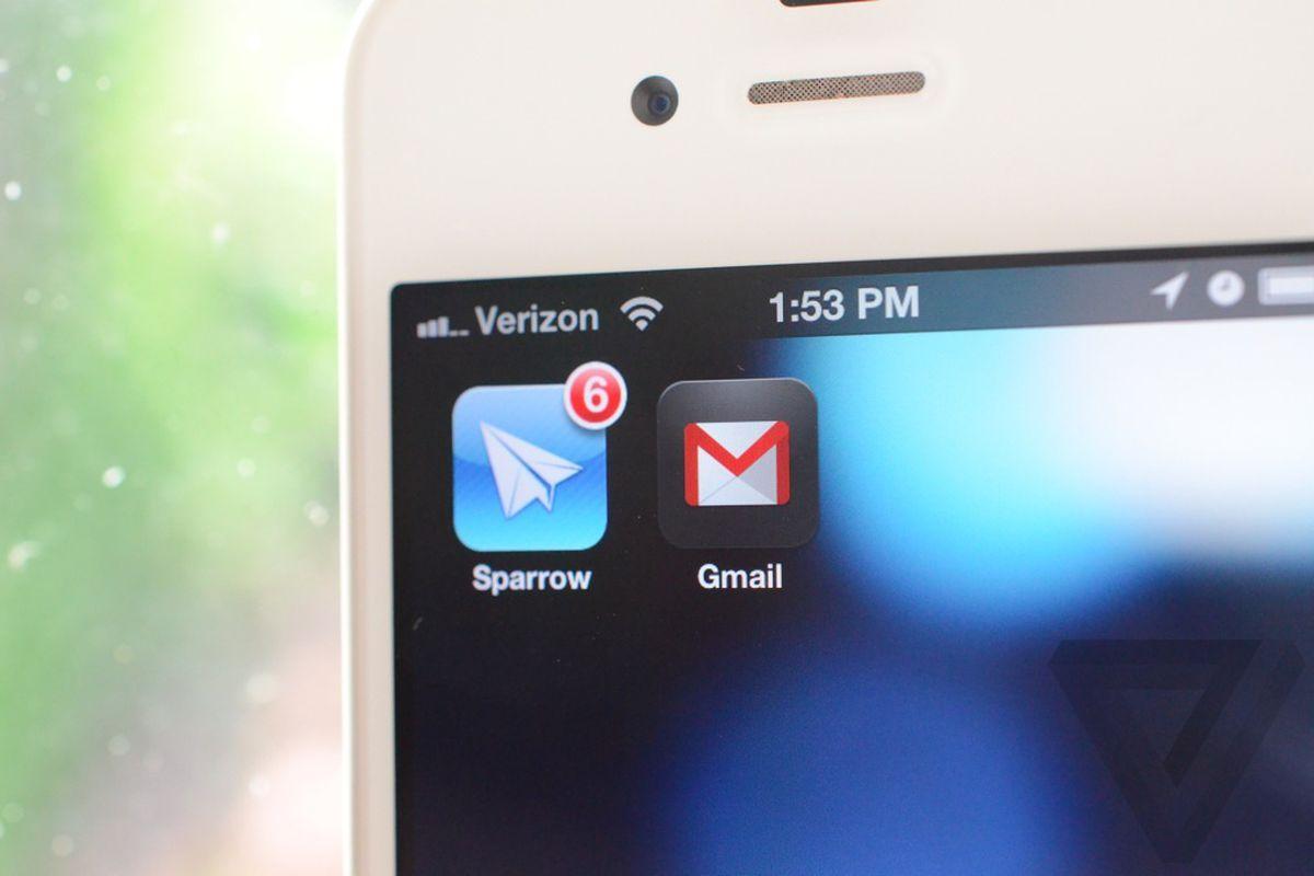 sparrow gmail
