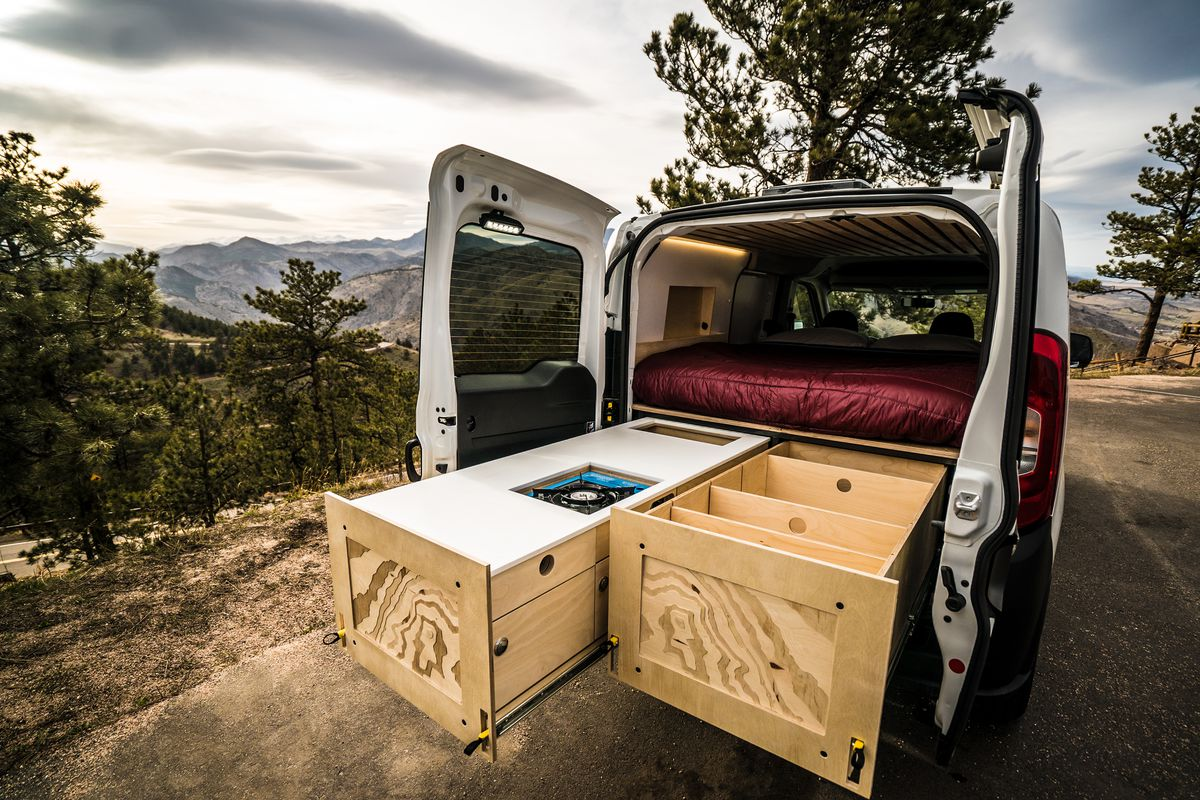 Denver Based Contravans Is Building Prefab Conversion Kits For The Ram Promaster City Courtesy Of
