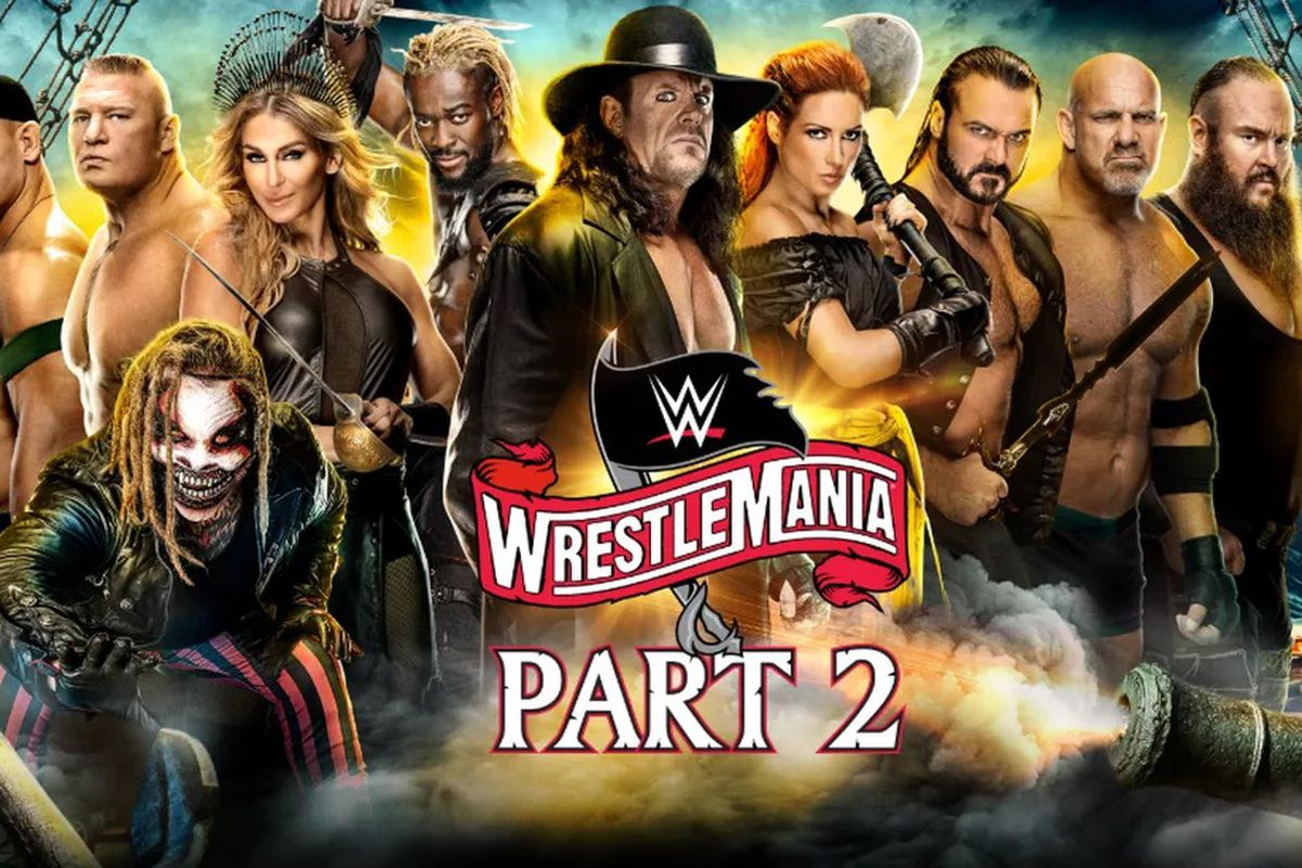 Wrestlemania 36 Results Live Streaming Updates Day 2 Mmamania Com