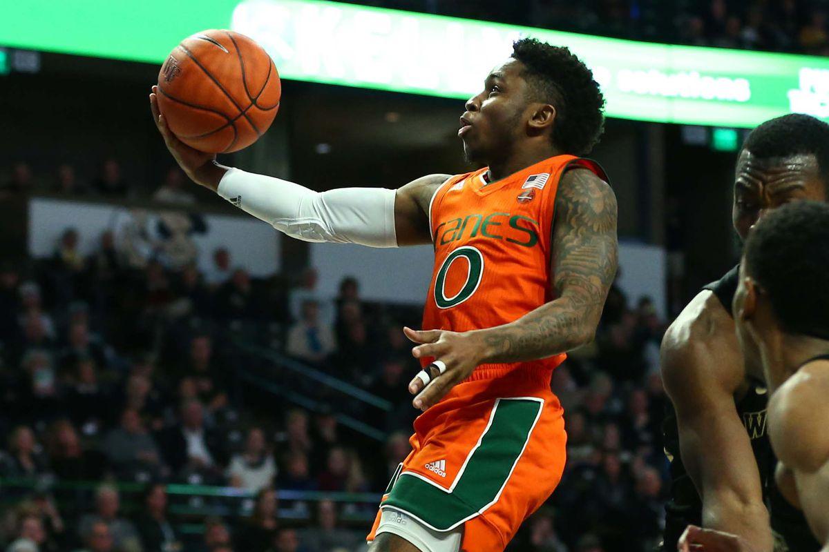 NCAA Basketball: Miami-Florida at Wake Forest