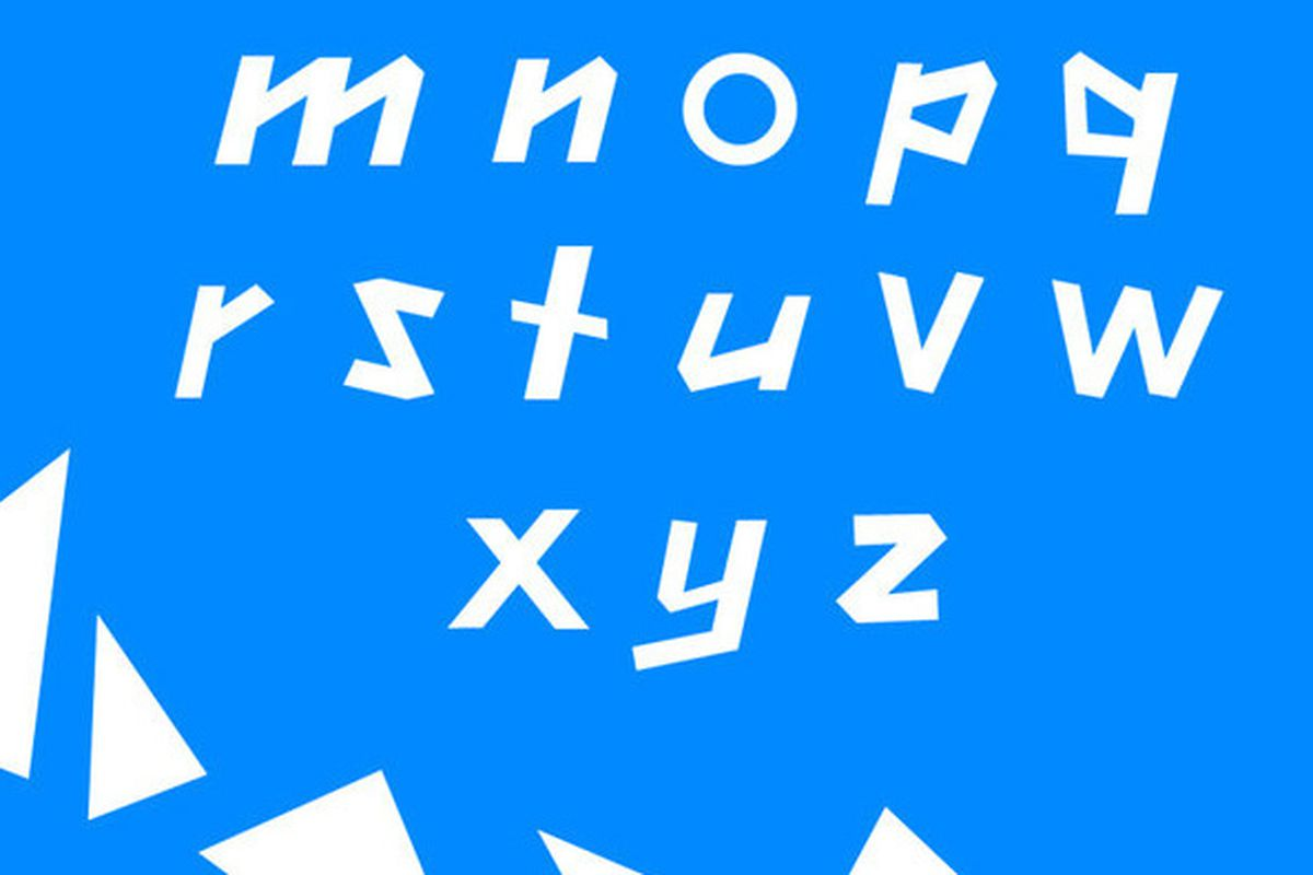 london 2012 typeface