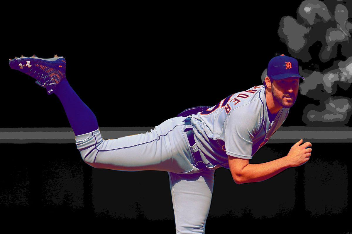 Justin Verlander (Getty Images/Ringer illustration)