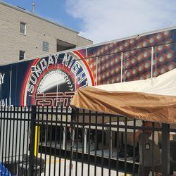 ESPN's Sunday Night Baseball truck -