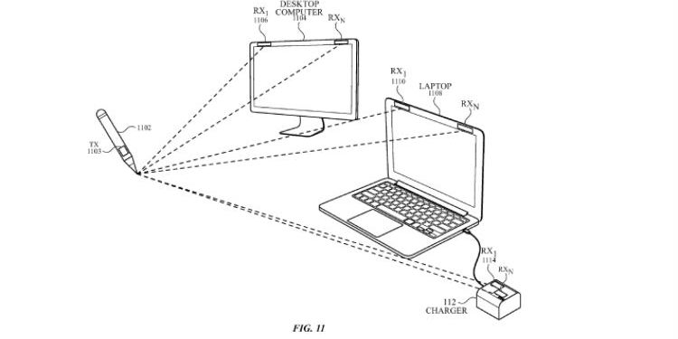 This Apple Patent Shows A Stylus That Can Draw On Any Surface And